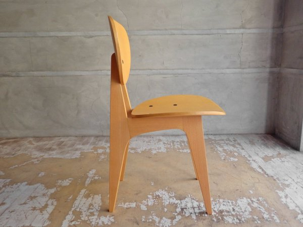 イデー IDEE ダイニングチェア ナチュラル DINING CHAIR Natural 長大作 食卓椅子 ジャパニーズモダン 定価:57,200円 B ♪