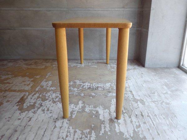 柏木工 KASHIWA オーク無垢材 カウンターテーブル ダイニングテーブル コンソール 幅150 ♪