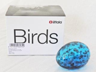 イッタラ iittala イッタラバード Birds by Toikka アノ・エッグ Ano Egg SCOPE限定 非売品 ブルーxブラック 箱付 ◇