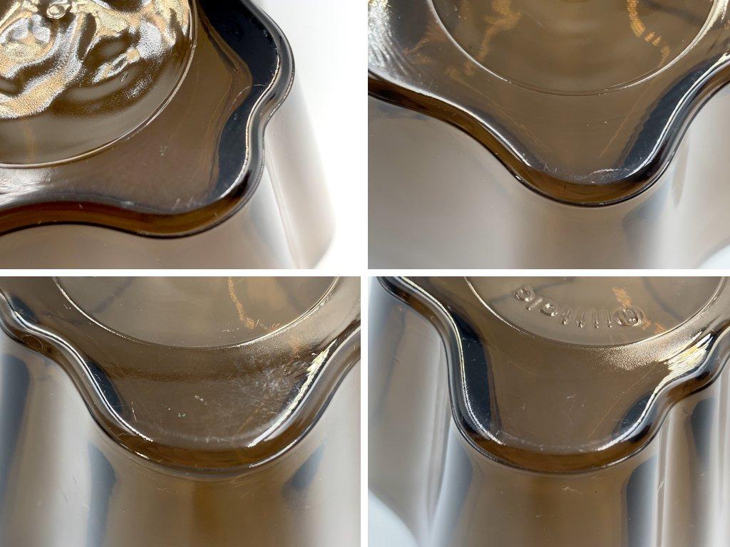 イッタラ iittala アアルトコレクション スモールボウル サンド アルヴァ・アアルト Alvar Aalto ガラス 北欧食器 フィンランド ◎