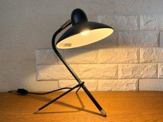 ディクラッセ DI CLASSE アルル デスクランプ Arls desk lamp デスクライト 卓上ライト スチール×真鍮 ブラック LED電球使用可¥16,500- ◎