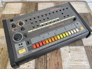 ローランド Roland TR-808 Rhythm Composer リズムマシン シーケンサー ドラムマシン 80's ビンテージ 名機 オーバーホール レストア済 ●