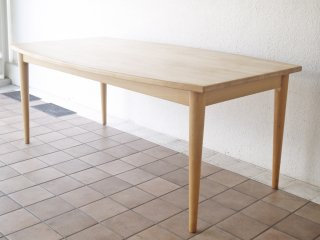 クビストモブラー KVIST MOBLER ジャイブ JIVE ダイニングテーブル 幅180cm ビーチ材 トム・ステップ デンマーク 北欧家具  ◇