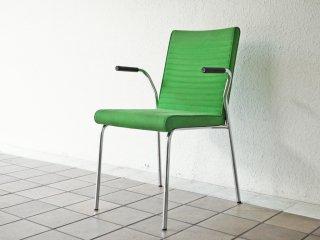オフェクト OFFECCT クイックアームチェア Quick armchair スタッキング アームチェア グリーン 北欧モダンデザイン スウェーデン ◇