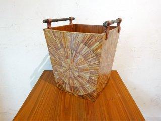 R&Y Augousti Paris リア&イオーリ・オーグスティ パリ ダストボックス Dust box シェルインレイ 貝細工 象嵌 アイアンハンドル ★