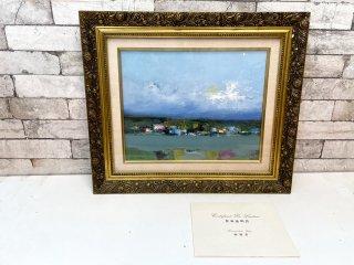 ジャン ペルティエ JEAN PELTIER セーヌの岸辺 油彩画 油絵 F6号 風景画 フランス 作家証明書付き ●