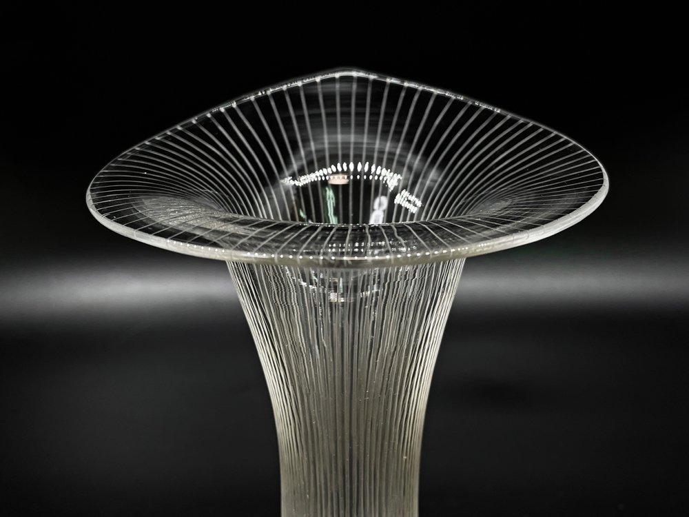 イッタラ iittala カンタレッリ Kantarelli ガラスベース Mサイズ 花瓶 花器 H11cm タピオ・ヴィルカラ フィンランド 北欧ビンテージ ●