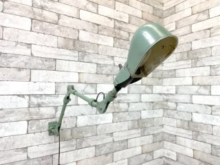 デイトン エレクトリック DAYTON ELECTRIC 3アーム ウォールランプ マシンランプ 2V341 壁付け インダストリアル 工業系 USビンテージ ●