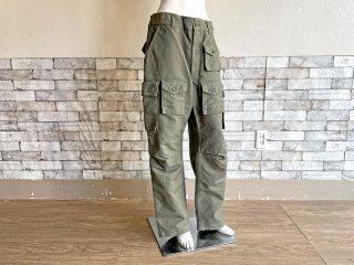 エンジニアドガーメンツ Engineered Garments カーゴパンツ FA Pant コットンリップストップ Cotton Ripstop オリーブ メンズ Sサイズ ミリタリー USA製 ●