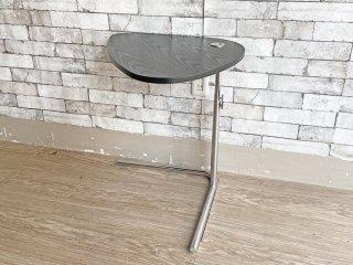 テクタ TECTA サイドテーブル K22 SIDE TABLE ブラック 昇降 アクセル・ブロッホイザー ドイツ バウハウス アクタス ACTUS 取扱 定価¥70,400- ●