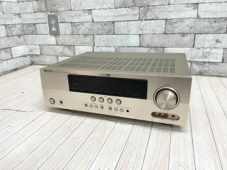ヤマハ YAMAHA AVアンプ AX-V565 ゴールド 7.1ch対応 オーディオ 生産終了品 ●