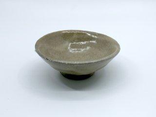 森岡 成好 小皿 プレート 直径10cm 粉引 陶芸家 現代作家 ●