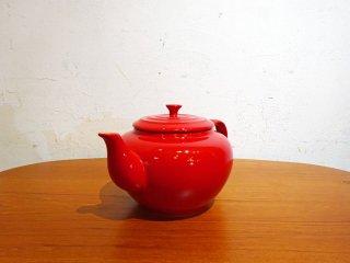 ルクルーゼ Le Creuset ティーポット ラージ Tea pot 1.3リットル チェリーレッド ストーンウェア ★