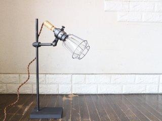アートワークスタジオ ART WORK STUDIO ヤードデスクライト Yard desk light デスクランプ ブラック インダストリアル ◎