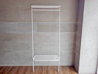 デュエンデ DUENDE ウォールハンガー WALL HANGER 壁掛け スチール ホワイト H180cm SEMPRE取扱い 定価\22,000- B ♪