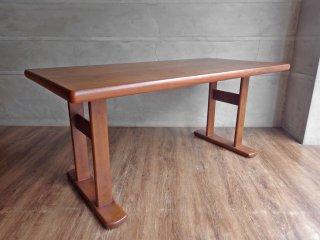 筑波産商 フィグ ダイニングテーブル 1型 ウォールナット LDスタイル w145 ナチュラル 定価\64,790- ♪