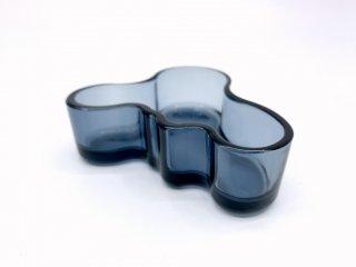 イッタラ iittala アルヴァ・アアルト コレクション ボウル ブルーベリーブルー Alvar Aalto 小物入れ ガラス 北欧雑貨 B ●