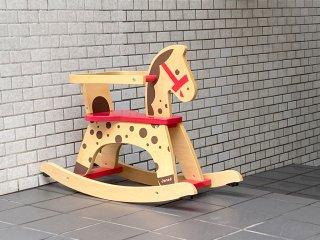 ジャノー JANOD キャラメル・ロッキングホース 木馬 ロッキング 乗用玩具 乗り物 ■