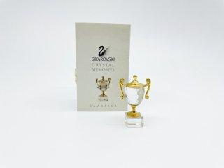 スワロフスキー SWAROVSKI クリスタル メモリーズ クラシック Crystal Memories Classic トロフィー カップ オブジェ オーナメント インテリア 箱付き ●