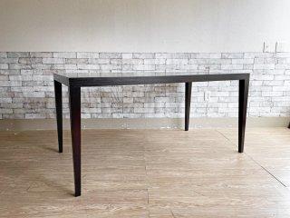タイム アンド スタイル TIME & STYLE ナンシー NANCY ダイニングテーブル タモ材 W150 モダンデザイン ●