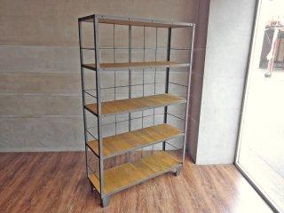 ジャーナルスタンダードファニチャー journal standard Furniture カルビ シェルフ CALVI SHELF LIGHT BROWN 定価104,500円 ♪