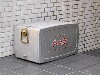 USビンテージ US Vintage コカ・コーラ Coca Cola クーラーボックス アイスボックス トレー ホース 付き 50's ■