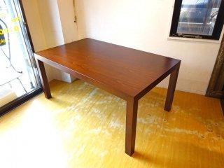 カッシーナイクスシー Cassina ixc. マトリクス MATRIX 1011 ブラックウォールナット材 ダイニング テーブル 160cm 美品 ★