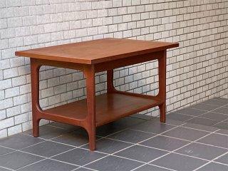 北欧 ビンテージ Scandinabian vintage チーク材 ローテーブル コーヒーテーブル オイル仕上げ 北欧家具 ■