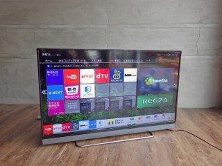 東芝 TOSHIBA レグザ REGZA 40V型 液晶テレビ 40V30 ネット動画・W録画・4K対応 トリプルチューナー LED 2016年製♪