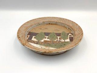 ケーラー KAHLER ビンテージ プレート 中皿 直径15.5cm デンマーク 北欧食器 北欧陶器 希少 レアアイテム 入手困難 ◎