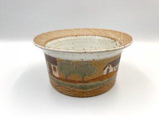 ケーラー KAHLER ビンテージ スープボウル 深皿 直径14.5cm デンマーク 北欧食器 北欧陶器 希少 レアアイテム 入手困難 ◎