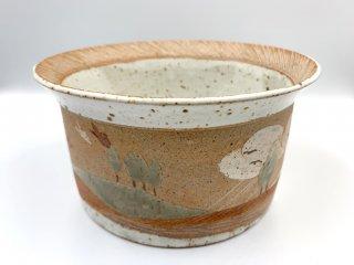 ケーラー KAHLER ビンテージ 大型ボウル 深皿 直径21.5cm デンマーク 北欧食器 北欧陶器 希少 レアアイテム 入手困難 ◎