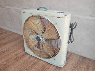 C&H ドイツ ビンテージ German vintage ボックスファン 扇風機 サーキュレーター 2段階風力調節 ♪