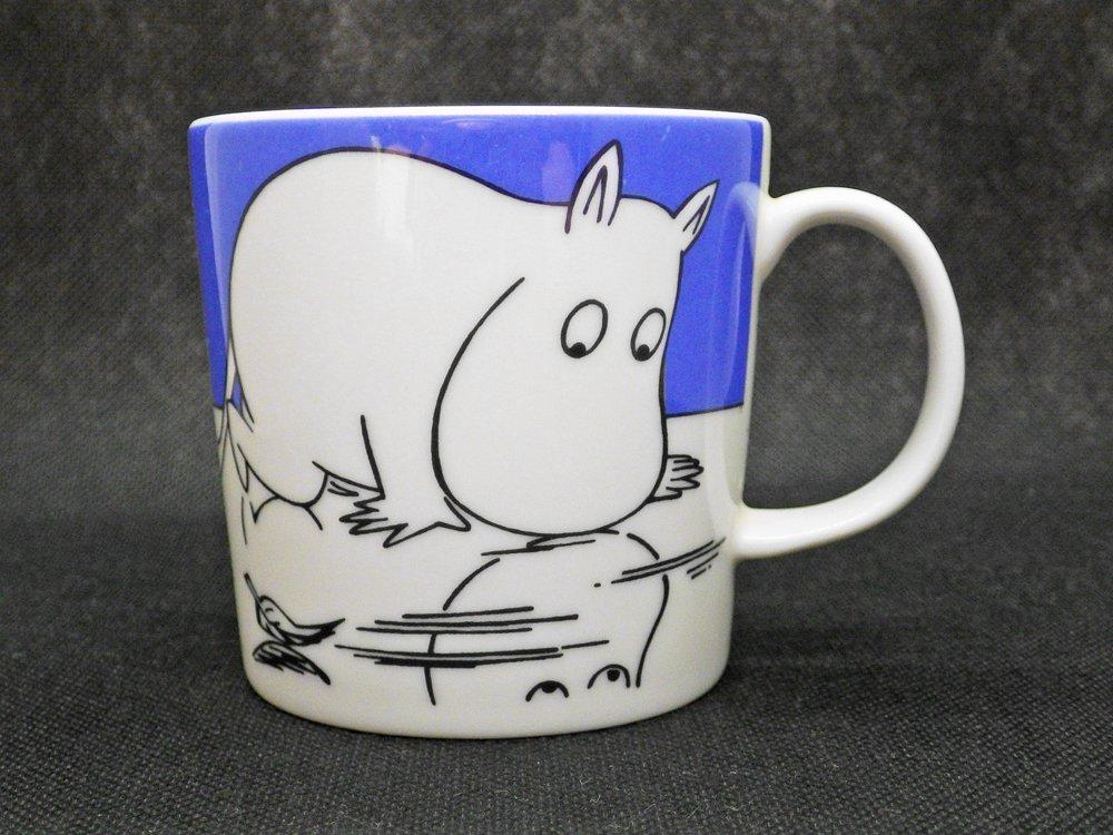 アラビア ARABIA ムーミン マグカップ ムーミントロールオンアイス Moomintroll on ice 廃番 希少 ♪