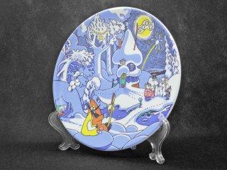 アラビア ARABIA ムーミンシリーズ Milennium wall plate ミレニアム ウォールプレート 2000年 トーベ・ヤンソン 希少 ♪
