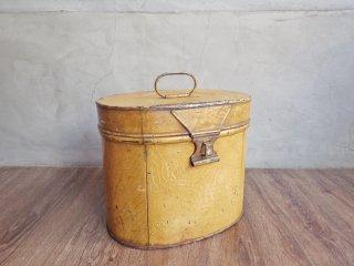 ヴィンテージ Vintage メタルボックス ツールボックス 小型収納 スチール 木目調 インダストリアル ♪