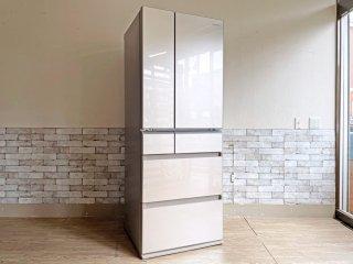 パナソニック Panasonic 501L 冷凍冷蔵庫 パーシャル搭載 2016年製 NR-F502PV-N シャンパンゴールド ●