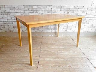 IDC大塚家具 OTSUKA アクシス2 Axis2 ダイニングテーブル ビーチ材 W125cm ナチュラル シンプルデザイン ●