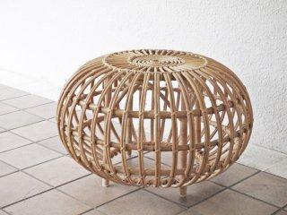 シカデザイン Sika Design スツール R65 フランコ アルビニ Franco Albini ラタン ハンドメイド デンマーク 北欧 ACTUS取扱 定価\45,100- ◇