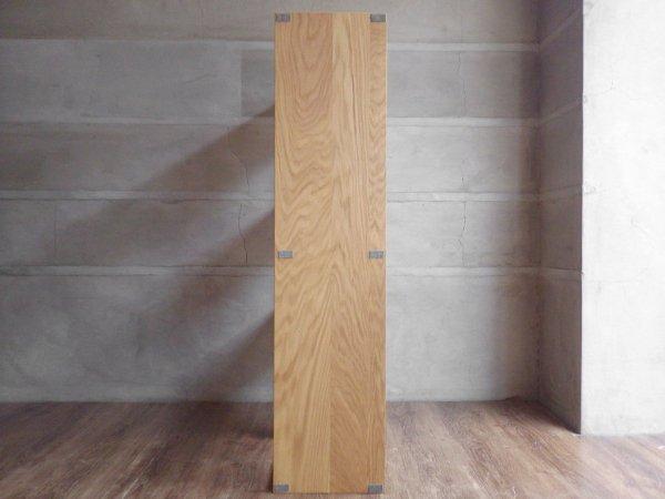 無印良品 MUJI スタッキングシェルフ 2列3段 オーク材 オープンシェルフ W81cm 定価28,800円 ♪