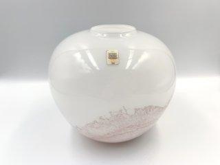 ホルムガード Holmegaard サクラ SAKURA フラワーベース Michael Bang 1980年代 ビンテージ デンマーク 北欧 花瓶 ◎