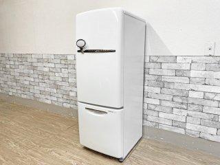 ナショナル National ウィル WiLL フリッジ ・ミニ FRIDGE mini 冷凍冷蔵庫 ホワイト 2007年製 162L ノスタルジック 廃番 ●