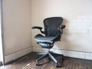 ハーマンミラー Herman Miller アーロンチェア Aeron Chair Aサイズ ポスチャーフィット フル装備 デスクチェア  オフィス ◎