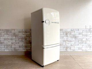 ナショナル National ウィル フリッジ WiLL FRIDGE 冷凍冷蔵庫 ホワイト 260L 2000年製 ノスタルジックデザイン 廃番 現状品 ●