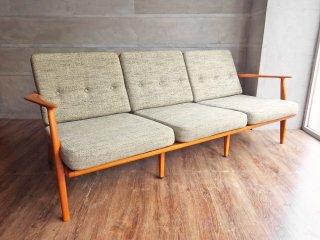 アクメ ファニチャー ACME Furniture デルマー 3人掛けソファ DELMAR SOFA 3-Seater ファブリック ライトグレー 廃番 ♪