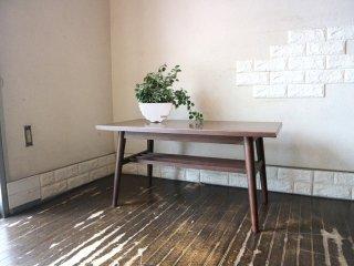 ジャパンビンテージ Japan Vintage 古い木味のローテーブル デコラトップ 昭和レトロ 和家具 古家具 ◎