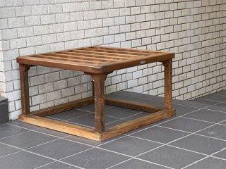 ジャパンビンテージ Japan Vintage コーヒーテーブル センターテーブル こたつやぐら 炬燵櫓 和モダン ■