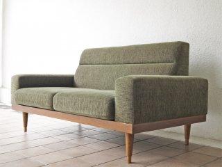 パシフィックファニチャーサービス Pacific furniture service P.F.S スタンダードC STANDARD C 2人掛け ラブ ソファ RG Green ◇