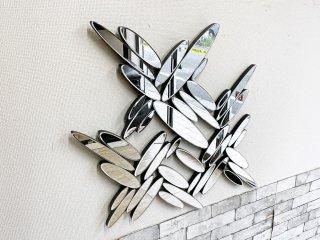 コンテンポラリーデザイン Contemporary design 壁掛け ミラー ウォールデコ Multi Facet Mirror ウォータードロップ ●