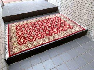 JARMUSCH購入 ビンテージ キリム ラグ 絨毯 180×125cm 現状特価品 ■